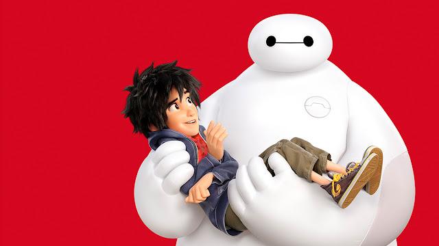 imagen de la película de animación de Disney Big hero 6