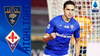 Video Lecce 1-3 Fiorentina: Vòng 33, VĐQG Italia