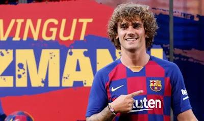 نادي برشلونة يفكر  في مستقبل أنطوان جريزمان