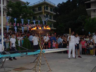 Το Σάββατο το πρωί η Ολυμπιακή Φλόγα στην Ηγουμενίτσα