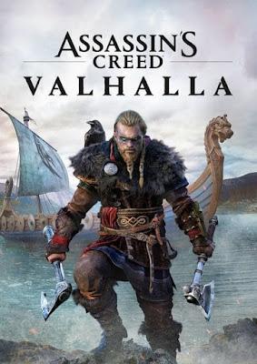 Capa do Assassin's Creed: Valhalla