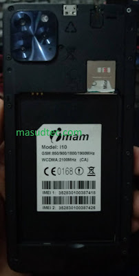 imam i10 firmware CA+BA+EA+EX file hang logo fix  without password