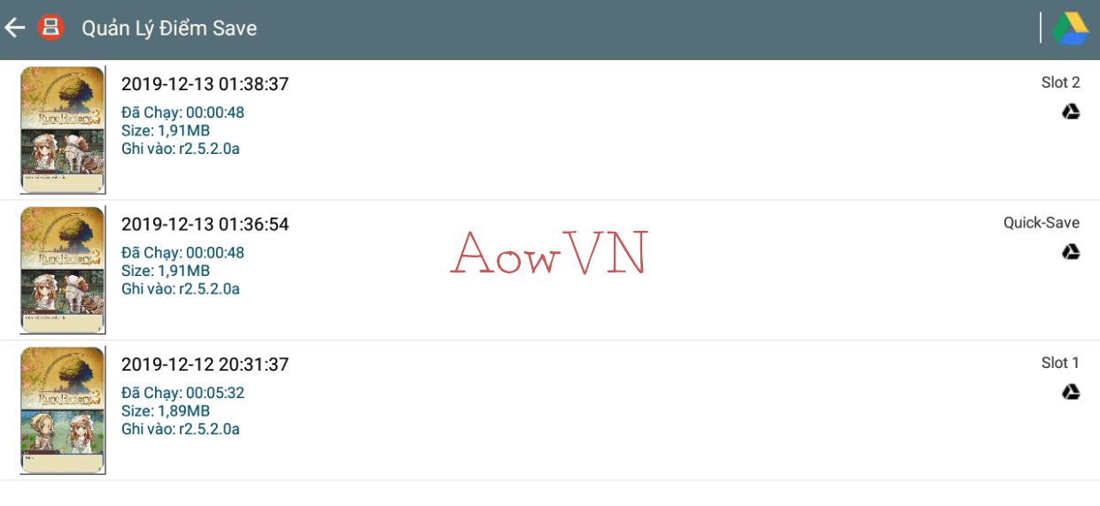 DraStic AowVN Viet hoa%2B%25286%2529 - [HOT] DS AowVN - DraStic Việt Hóa 90% | Fix hầu hết lỗi ở các bản cũ - Giả Lập NDS cho Android