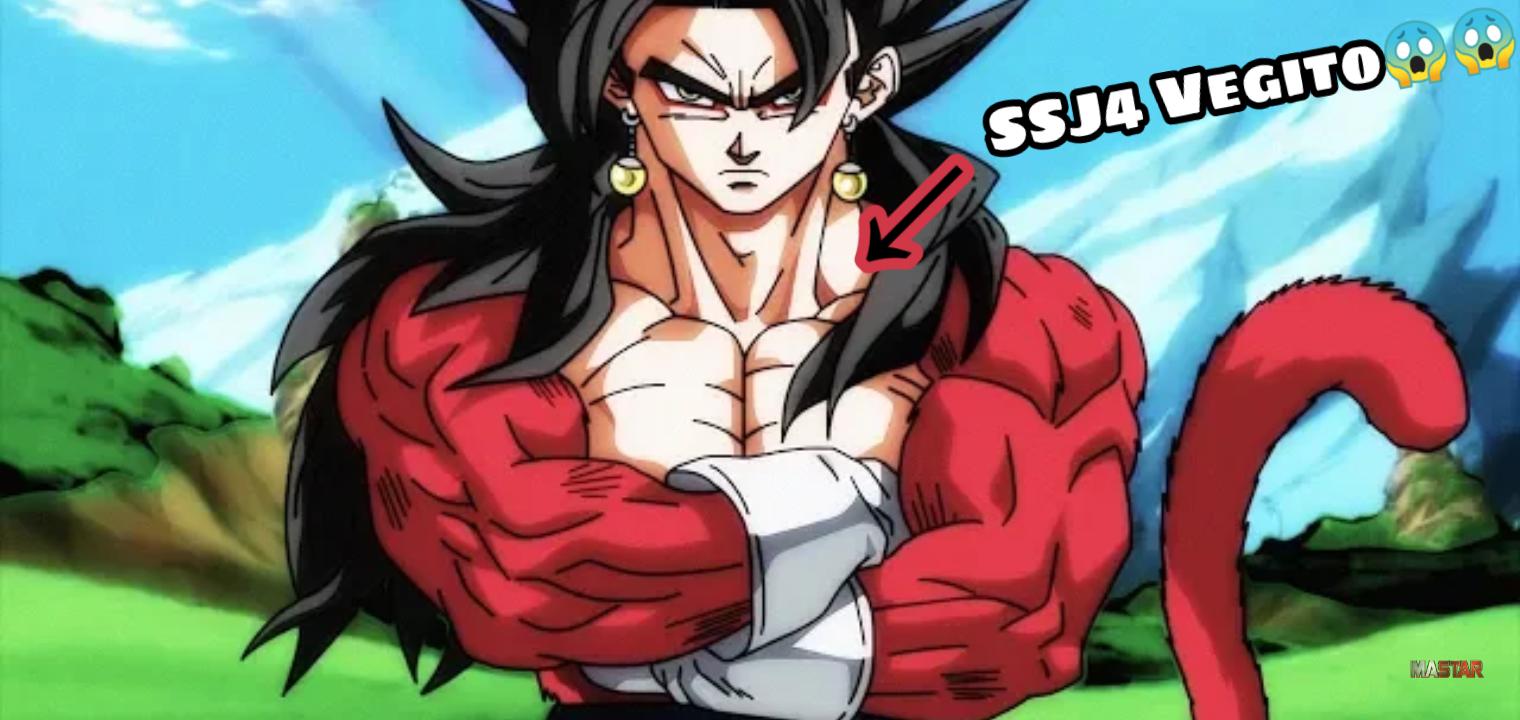 birth of super saiyan 4 vegito super dragon ball heroes episode 5