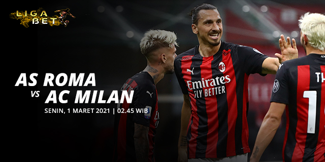 PREDIKSI PARLAY AS ROMA VS AC MILAN