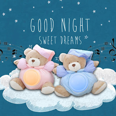 cute good night image