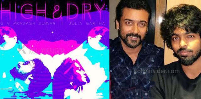Suriya congratulates GV Prakash for his International Album