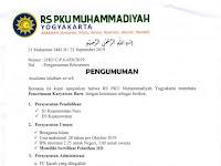 Lowongan Kerja Rumah Sakit PKU Muhammadiyah Yogyakarta