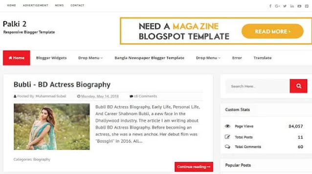 5 Best Free Mobile-Friendly with Full SEO Optimized Blogger Templates
