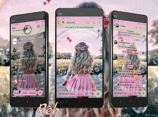 Alone Girls Theme For YOWhatsApp & Fouad WhatsApp By Reh