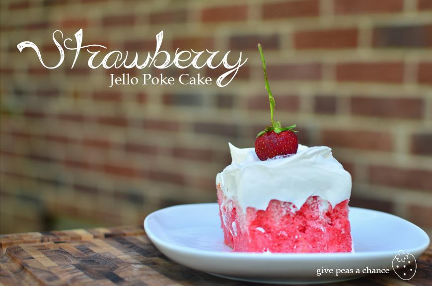 Jello Poke Cake Recipe Christmas