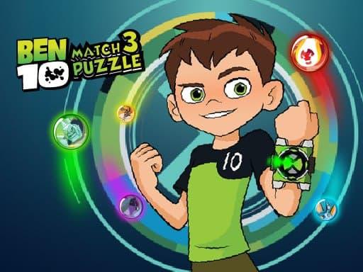 Ben 10 Match 3 Puzzle
