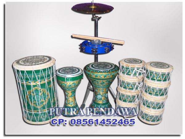 Harga paket Marawis Batik Hijau di toko jual alat musik