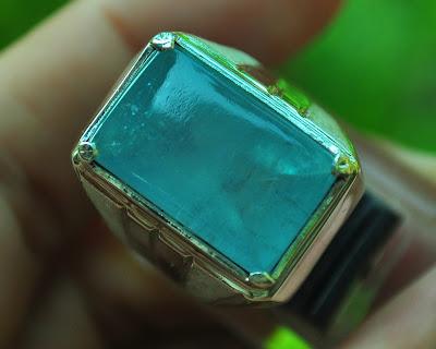 blue aquamarine