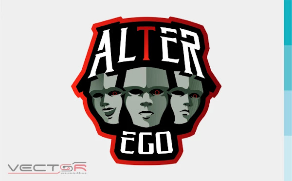 Alter Ego Esports Logo - Download Vector File SVG (Scalable Vector Graphics)