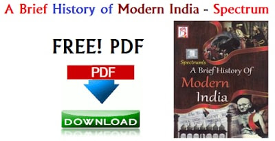 A Brief History of Modern India - Spectrum (History Book)