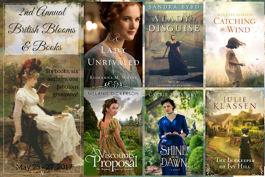 Second Annual British Blooms & Books Giveaway