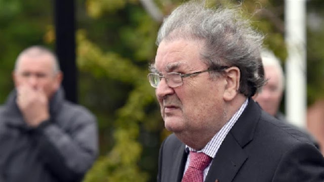 Politician John Hume, who won the Nobel Peace Prize for his work