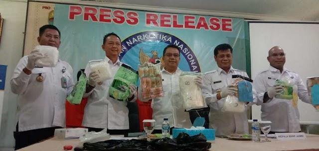 Pemilik Narkoba 4.9 Kg, Terancam Penjara Seumur Hidup