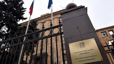 la Embajada de la República Checa en Moscú