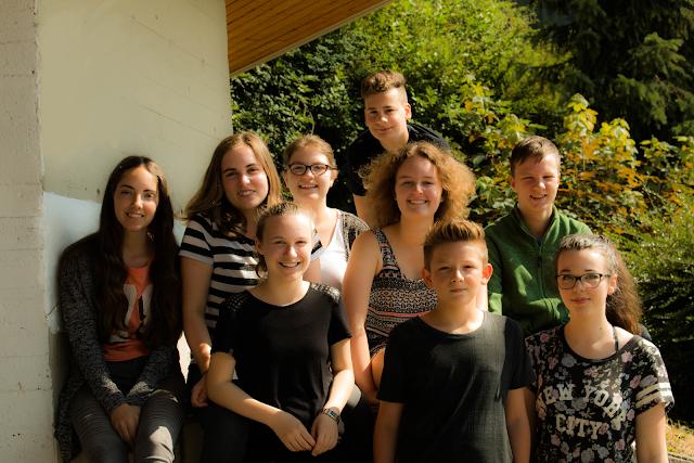 Schülerzeitungs Team 2015/2016 Foto: Felix Brand