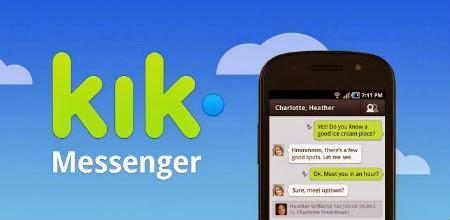 Envia mensajes y cuida tu privacidad de tu teléfono con Kik