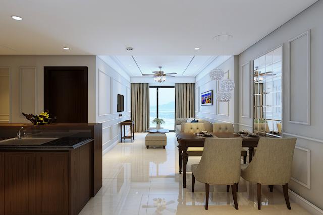 Căn hộ mẫu nhóm A dự án Luxury Apartment Đà Nẵng