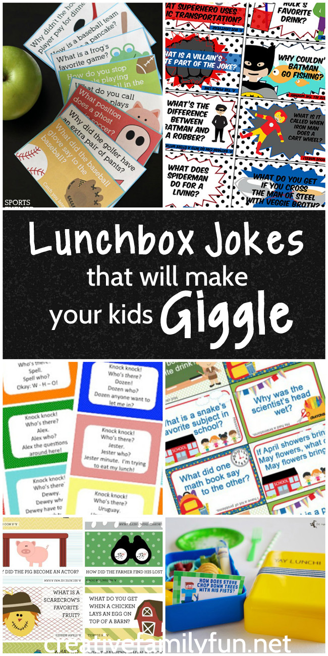 Brighten your child's day with one of these fun lunchbox jokes that will make them giggle.