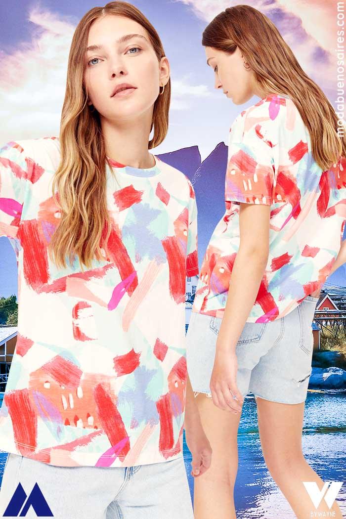 ropa de mujer verano 2022 remeras juveniles 2022