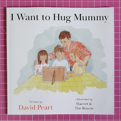 I want to hug Mummy review childrens bereavement book cover