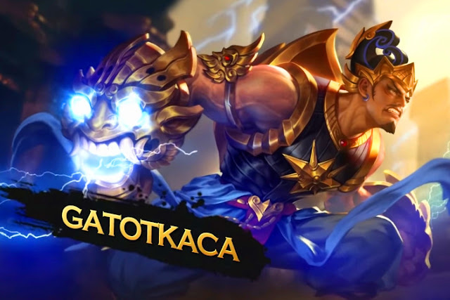 gatotkaca wallpaper hero mobile legends
