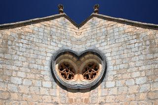 simetría, ermita, arquitectura, castilla león, españa,