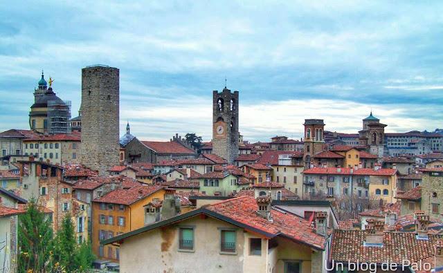Vistas de Bergamo - como llegar a Milán