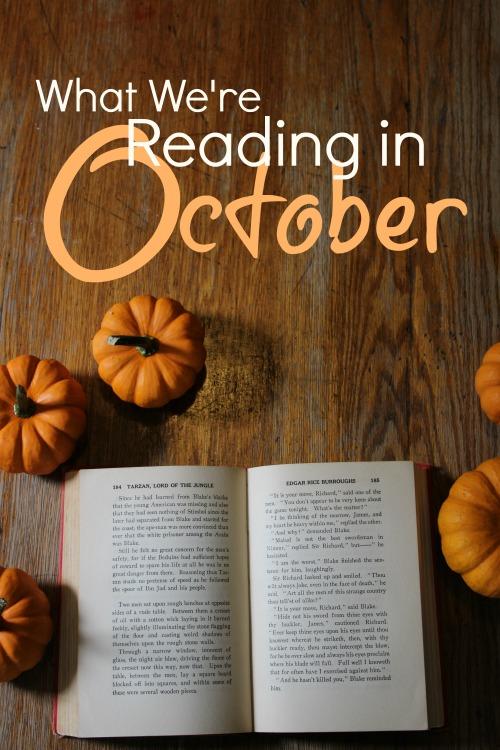 What We're Reading in October 2020 #homeschool #kidlit #readaloud #homeschoolreaders