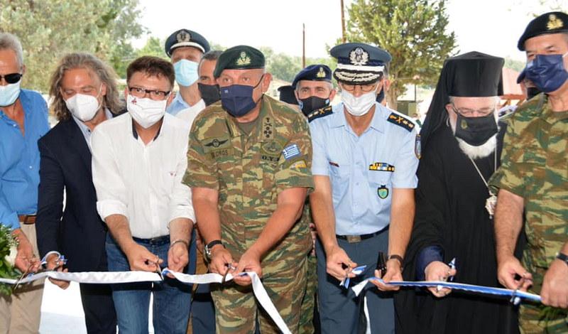 Εγκαινιάστηκε το ανακαινισμένο Στρατιωτικό Φυλάκιο 1 στις Καστανιές Έβρου