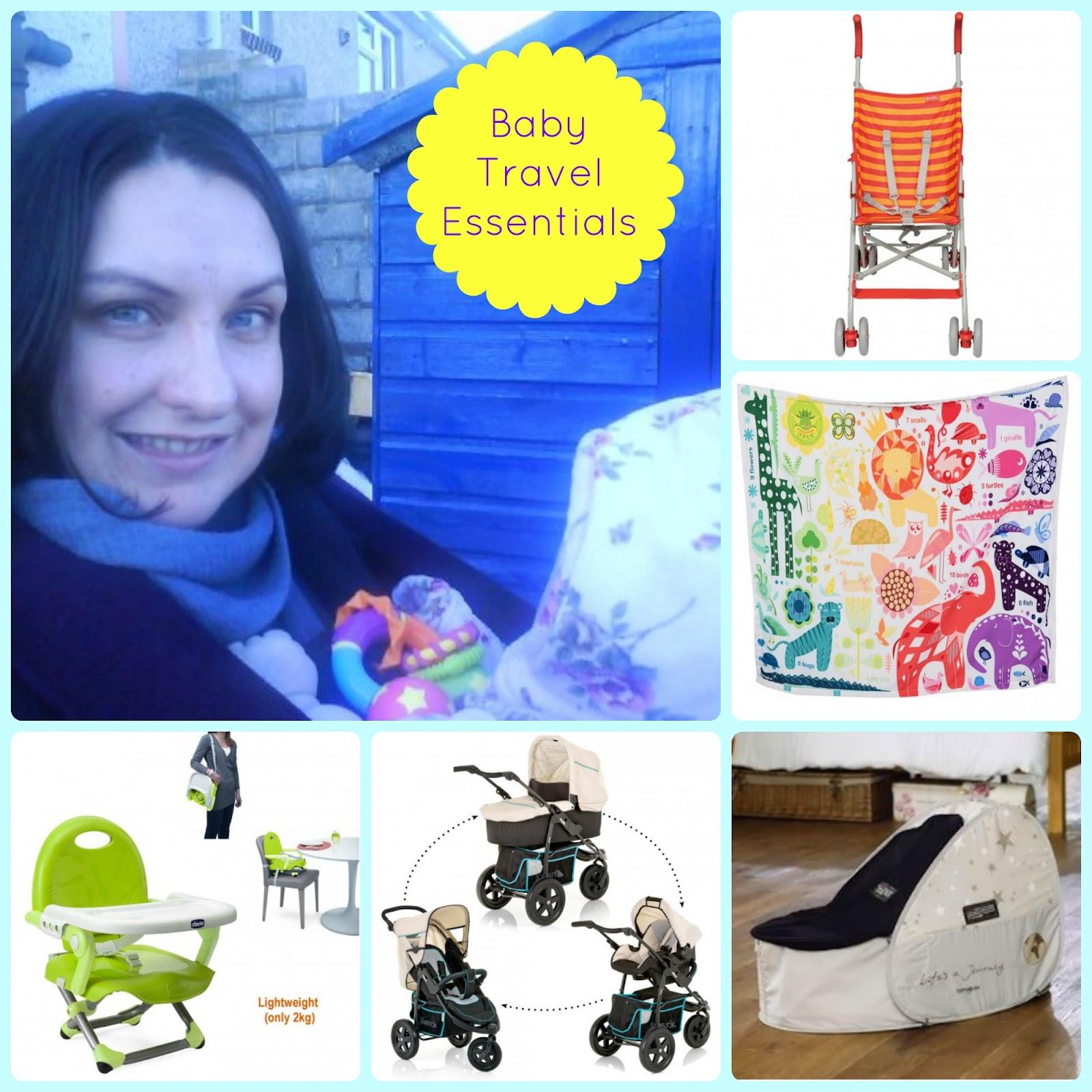 , Five Baby Travel Essentials