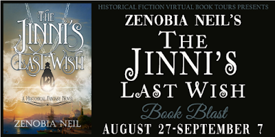 Book Blast: The Jinni's Last Wish by Zenobia Neil