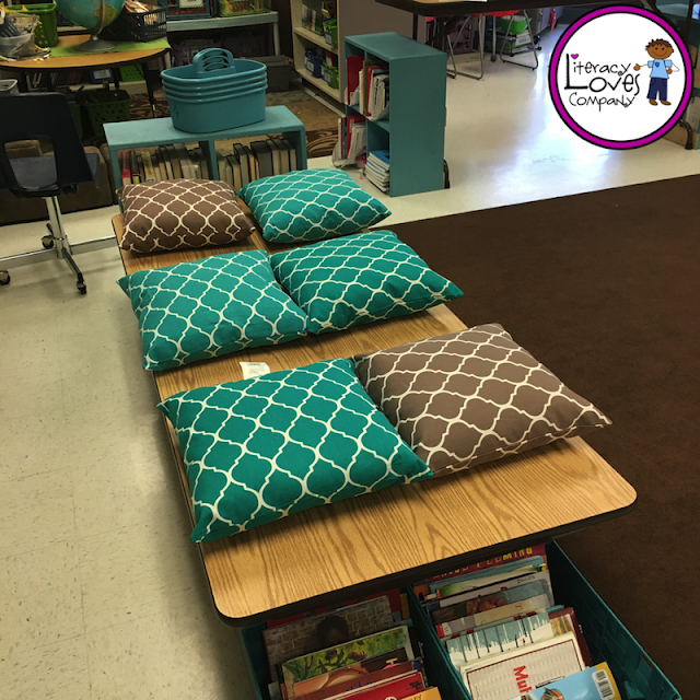 Literacy Loves Company Flexible Classroom Seating
