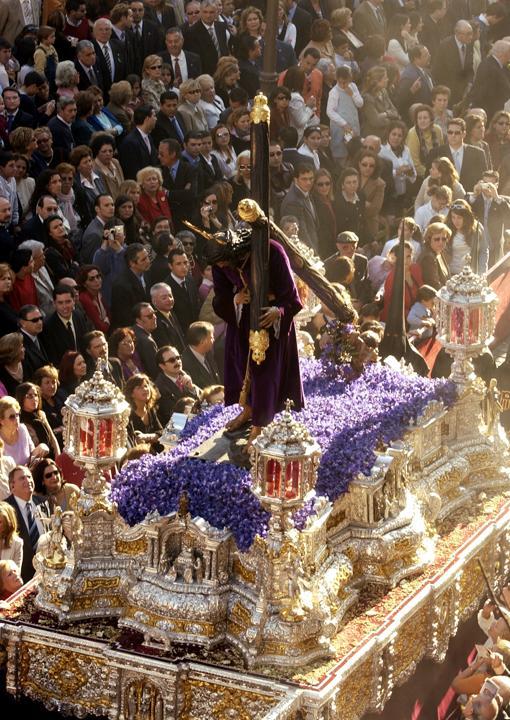 El paso del Señor de Pasión de Sevilla cumple 75 años