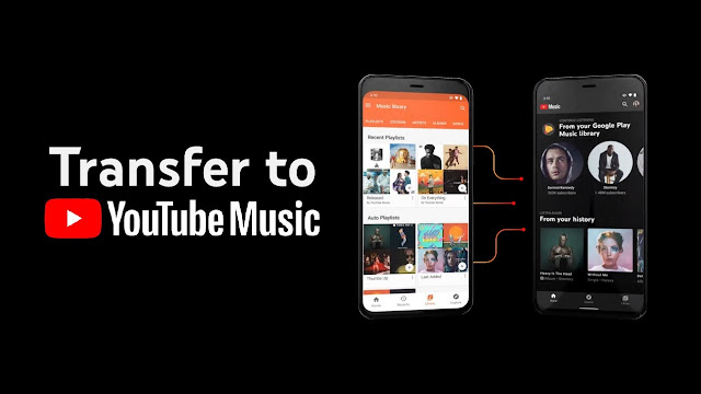 Comment transférer Google Play Music vers YouTube Music ?