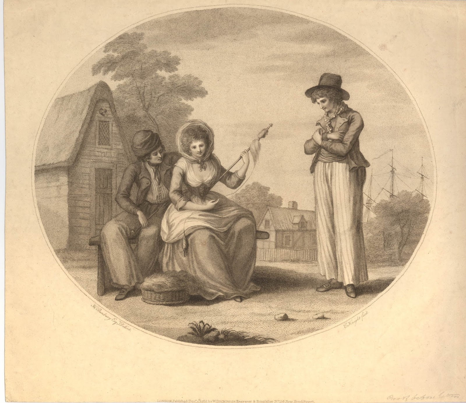 Love and Jealousy, 1786. ""