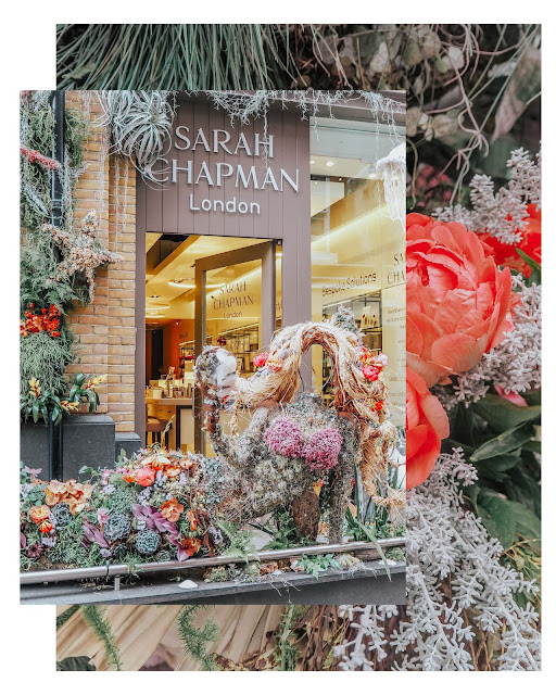 Chelsea in Bloom Sarah Chapman Mermaid Floral Display