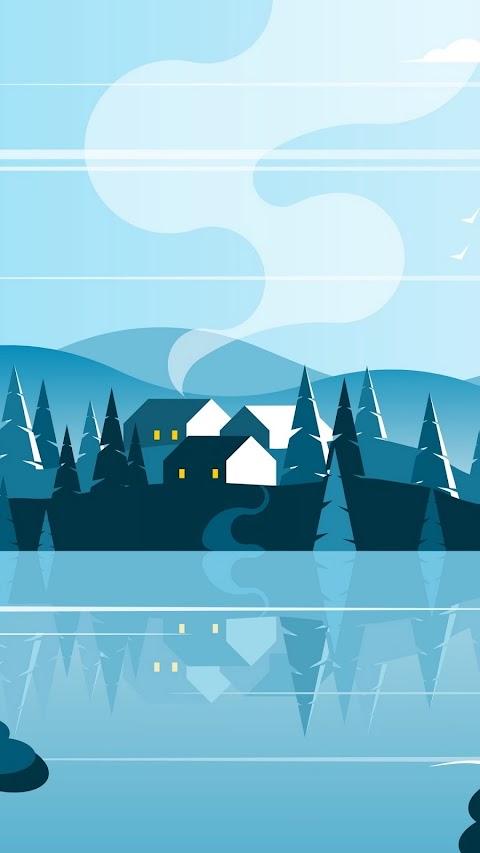 Những Ngôi Nhà Nhỏ Trên Núi