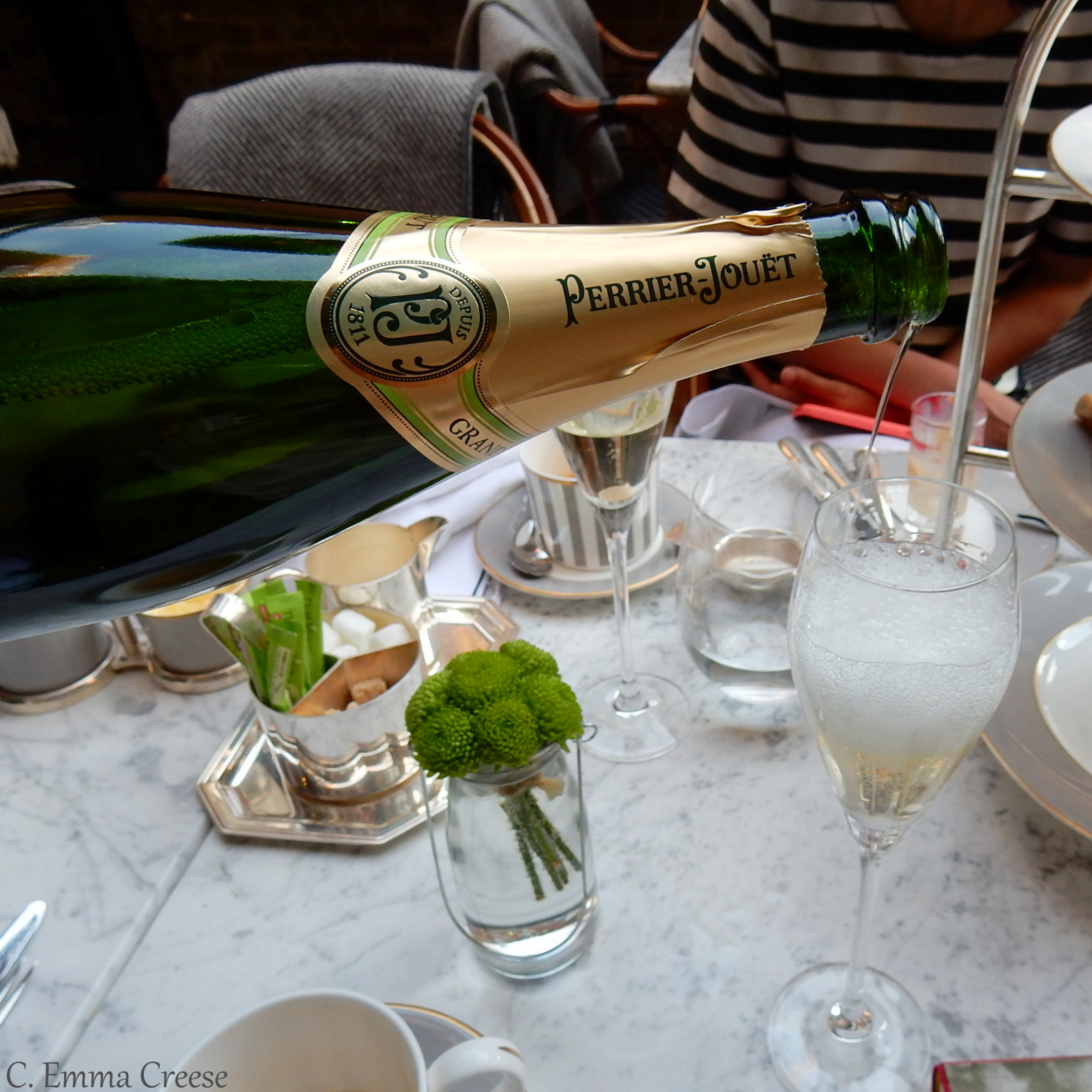 Afternoon Tea Dalloway Terrace Bloomsbury Hotel & a hashtag of bloggers