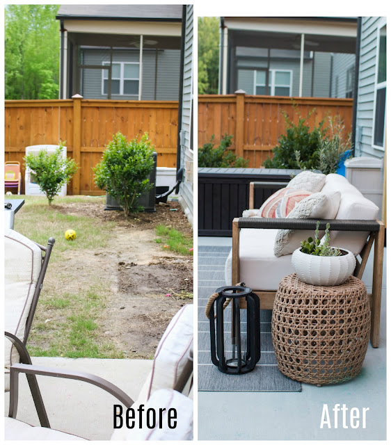 Budget-Friendly Small Patio Makeover!