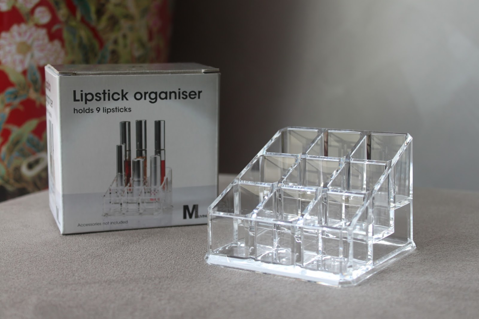 ... collection of beauty storage products at very affordable prices - this  little lipstick organiser set me back about $7.00 (which is half the price  then ...