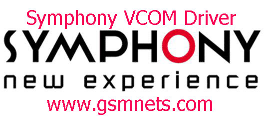 Latest Symphony VCOM Driver Download