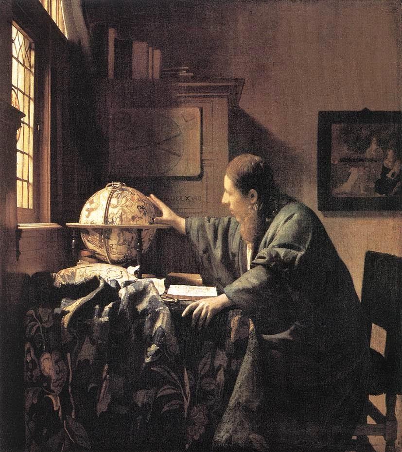 O Astrônomo - Vermeer, Jan e suas principais pinturas