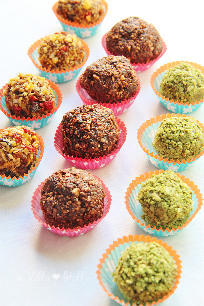 Rezept | vegane Stillkugeln / Energiekugeln selbermachen