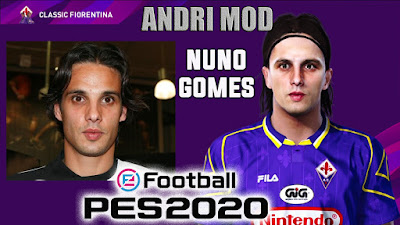 PES 2020 Faces Nuno Gomes by Andri Mod
